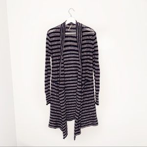 Anthropologie Free People Blue Striped Sweater